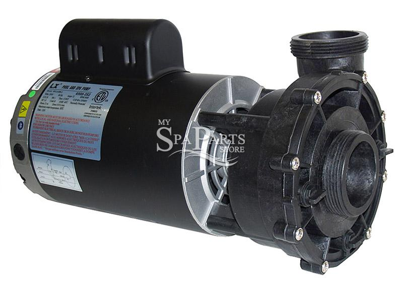 Jacuzzi spa 2 5 hp 240v 2 speed 56 frame pump my spa for Jacuzzi pumps and motors