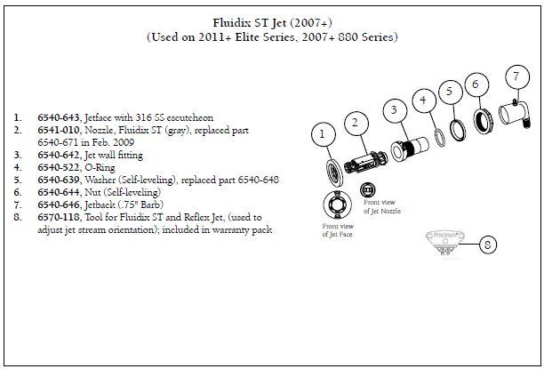 Sundance Spa Fluidix St Jet Compensator Manual Guide